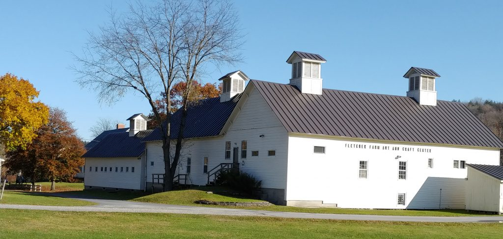 Fall Photo of the Barn, visible from Route 103 South.