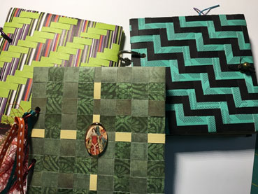 Woven Journal Covers