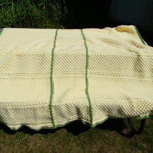 Crocheted Aran Afghan