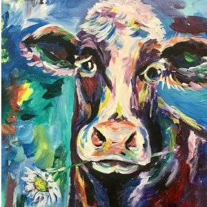 Painting of Cow