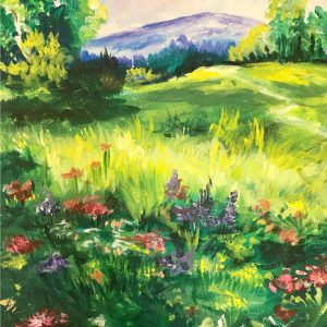 Painting of a Meadow