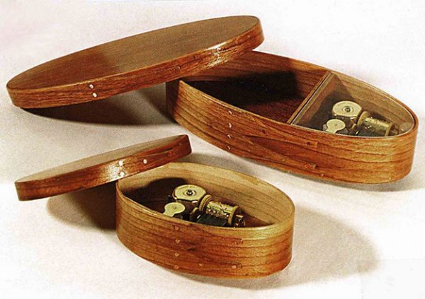 Oval Shaker Music Boxes