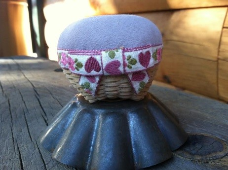 Shaker Pincushion Basket